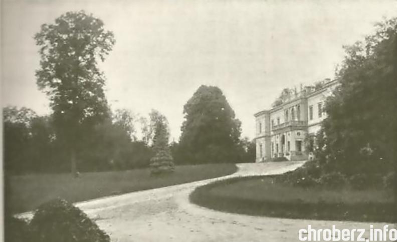 Znalezione obrazy dla zapytania pałac chroberz.info